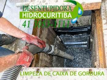 LIMPEZA DE CAIXA DE GORDURA no Jardim Social