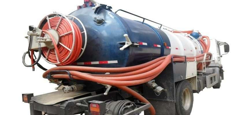 caminhao maquina hidrojateamento